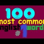100 Most Common English Words #1 - Learn English Words
