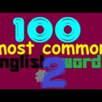 100 Most Common English Words #2 - Learn English Words