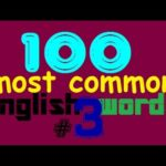 100 Most Common English Words #3 - Learn English Words